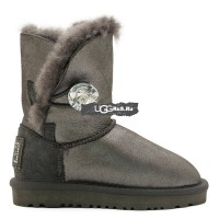 KIDS Bailey Button Glitter Grey