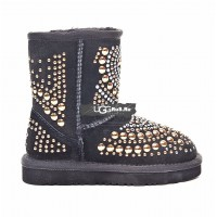 KIDS UGG Jimmy Choo Mandah Black