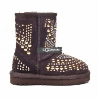 KIDS UGG Jimmy Choo Mandah Chocolate
