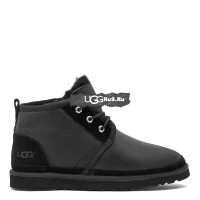 Mens Neumel Boots Metallic Black