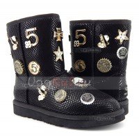 UGG Jimmy Choo 5 th Avenue - Black