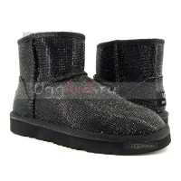 UGG Jimmy Choo Mini Serein II - Black