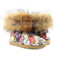 UGG Jimmy Choo TRAVEL FOX Orange