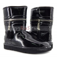UGG Jimmy Choo Zipper Black
