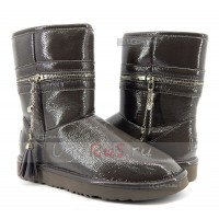 UGG Jimmy Choo Zipper Grey