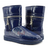 UGG Jimmy Choo Zipper Navy