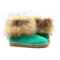 With Fox Fur mini Green