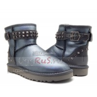 Neva Deco Studs Metallic Grey