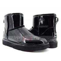 UGG Jimmy Choo Mini Patent II Black