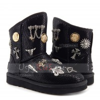UGG Jimmy Choo Multisign Black