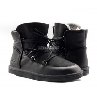 MENS LEVY BOOTS BLACK