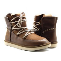 MENS LEVY BOOTS CHESTNUT