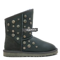 UGG Jimmy Choo Starlit Metallic Grey