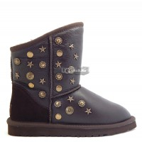 UGG Jimmy Choo Starlit Metallic Chocolate