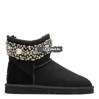 UGG Jimmy Choo Multicrystal Black