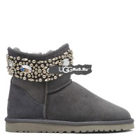 UGG Jimmy Choo Multicrystal Grey