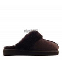 Slipper Scufette High Chocolate